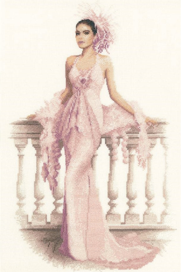 Cross Stitch Kit Gabriella, Elegance Counted Cross Stitch Kit, John Clayton