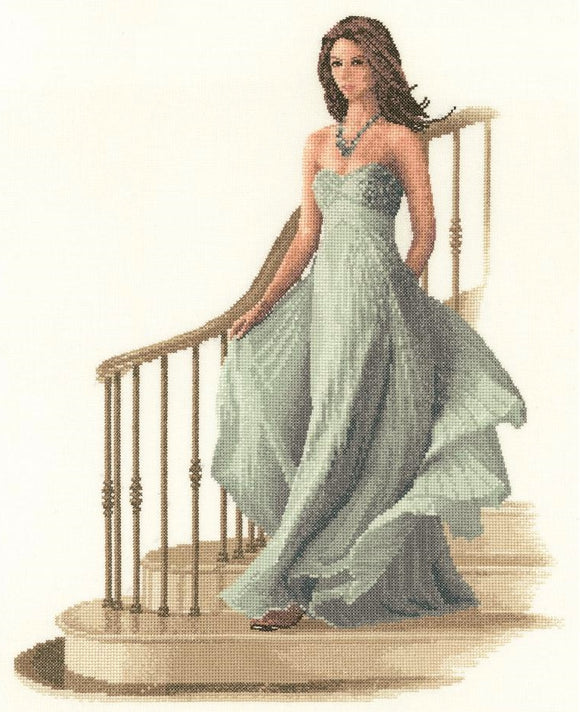Cross Stitch Kit Louisa, Elegance Counted Cross Stitch Kit, John Clayton