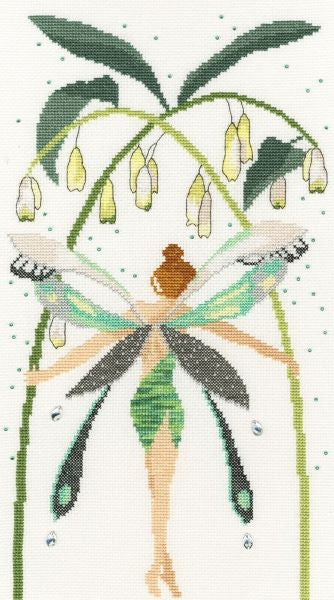 Crystal Fairy Cross Stitch Kit, Bothy Threads XF8