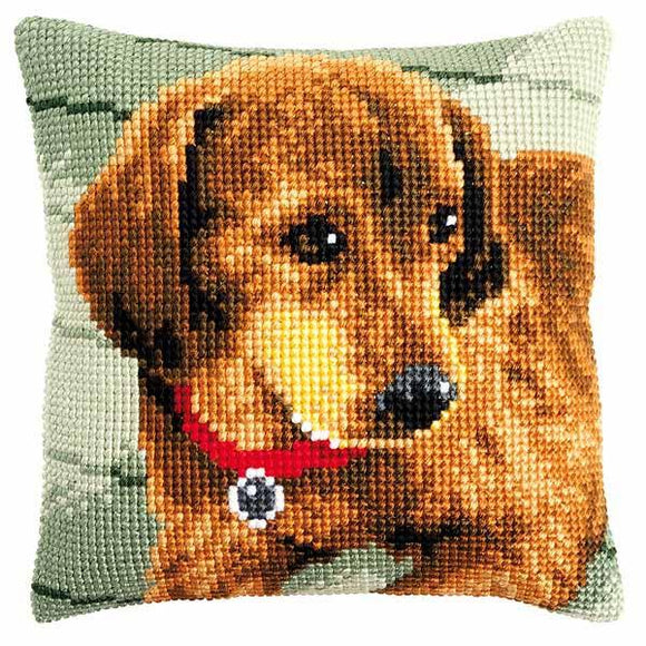 Dachshund CROSS Stitch Tapestry Kit, Vervaco PN-0148521