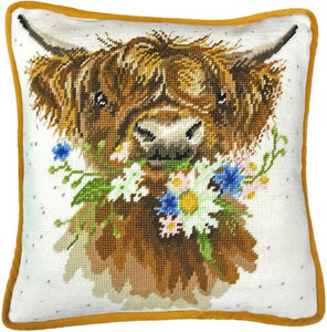 Daisy Coo Tapestry Kit, Needlepoint Kit Bothy Threads THD42