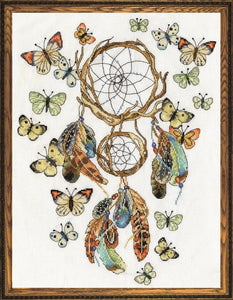 Cross Stitch Kit Butterfly Dreams, Counted Cross Stitch Kit 2937
