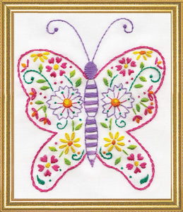 Embroidery Kit Butterfly Embroidery 3305
