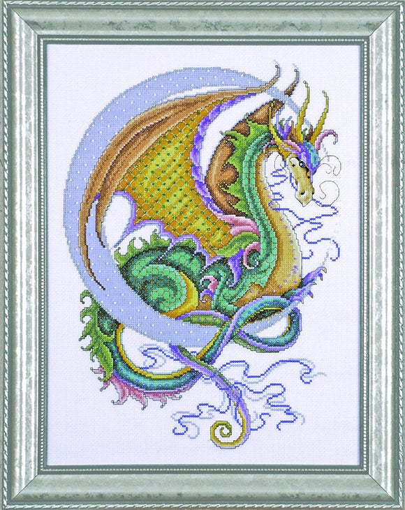 Cross Stitch Kit Celestial Dragon, Counted Cross Stitch Kit 2717