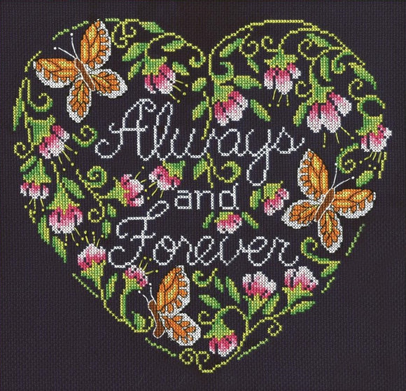 Always and Forever, Counted Cross Stitch Design Works 2925