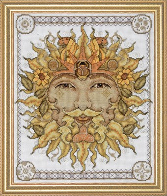 Cross Stitch Kit Father Sun, Counted Cross Stitch Kit 2760