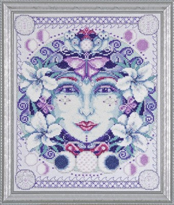 Cross Stitch Kit Mother Moon, Counted Cross Stitch Kit 2759