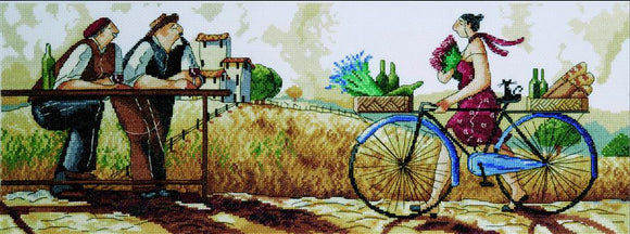 Cross Stitch Kit The Delivery, Counted Cross Stitch Kit 2779