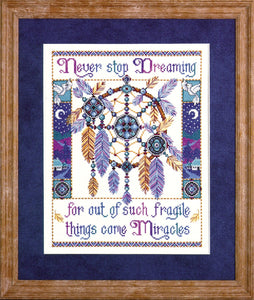 Fragile Miracles Cross Stitch Kit, Design Works 9979