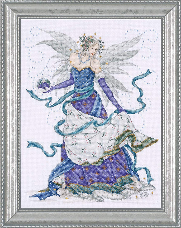 Ice Fairy Counted Cross Stitch Kit, Design Works 2739