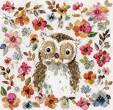 Owl Counted Cross Stitch Kit, Design Works 3274