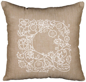 Romance Vines Cushion Embroidery Kit, Design Works 3011