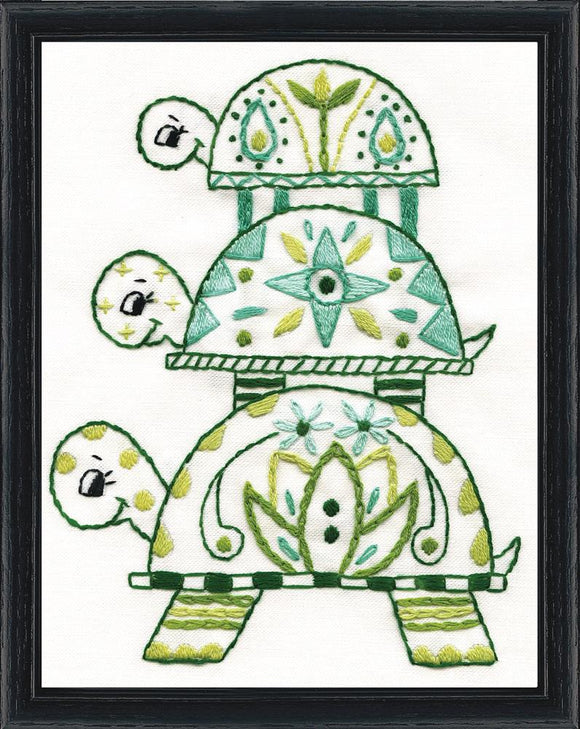 Embroidery Kit Turtle Pile Embroidery 3306