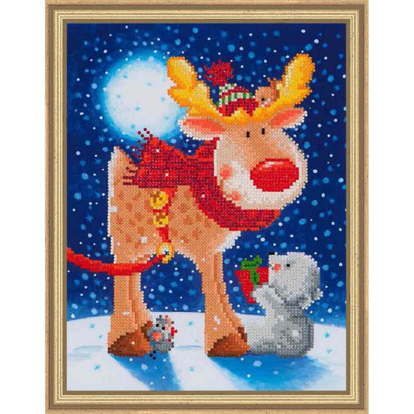Diamond Dotz Kit, Reindeer Gift Kit DD5.012