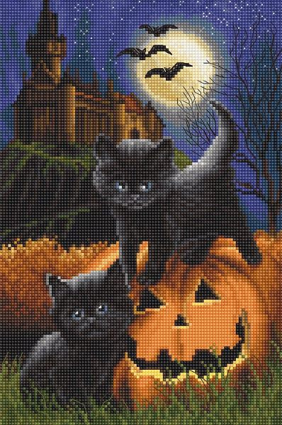 Did We Scare You Cross Stitch Kit (Luca-s) LetiStitch LETI964
