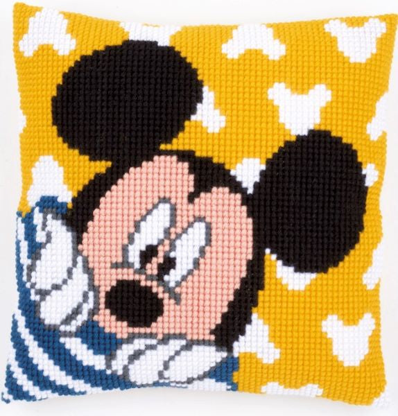 Mickey Mouse Peek-a-Boo CROSS Stitch Tapestry Kit, Vervaco Disney PN-0167235