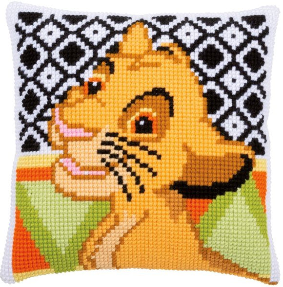Disney Simba CROSS Stitch Tapestry Kit, Vervaco PN-0183967