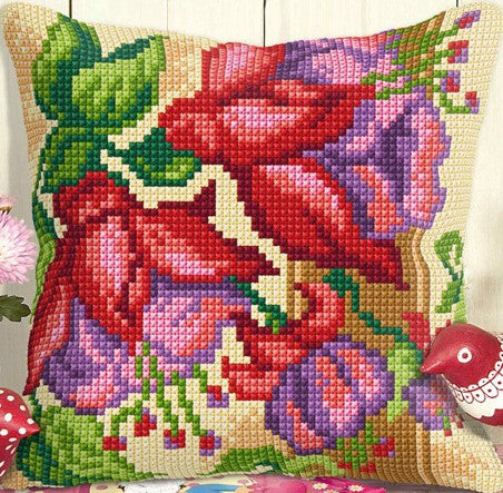 Exotic Flowers CROSS Stitch Tapestry Kit, Orchidea ORC9024