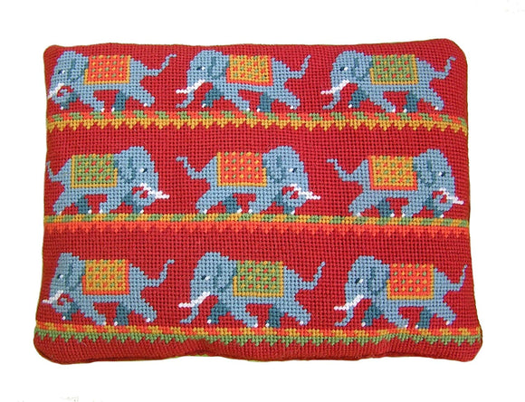 Elephant Parade Tapestry Kit Needlepoint Kit, The Fei Collection