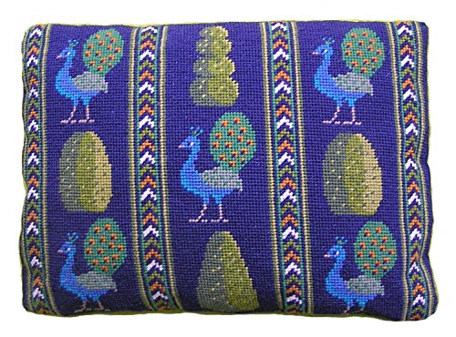 Topiary Peacocks Tapestry Kit Needlepoint Kit, The Fei Collection