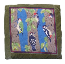 Woodpeckers Tapestry Kit Needlepoint Kit, The Fei Collection
