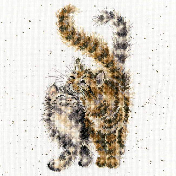 Feline Good Cross Stitch Kit, Bothy Threads, Wrendale Designs XHD60