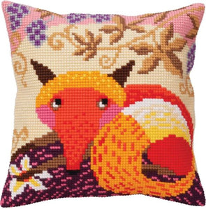 Fox and Grapes CROSS Stitch Tapestry Kit, Collection D'Art CD5397