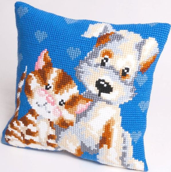 Friends CROSS Stitch Tapestry Kit, Collection D'Art CD5110