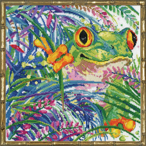 Tree Frog, Counted Cross Stitch Kit Design Works 3267