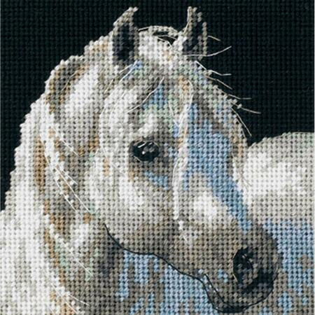 Gentle Strength Tapestry Needlepoint Kit, Dimensions D07215