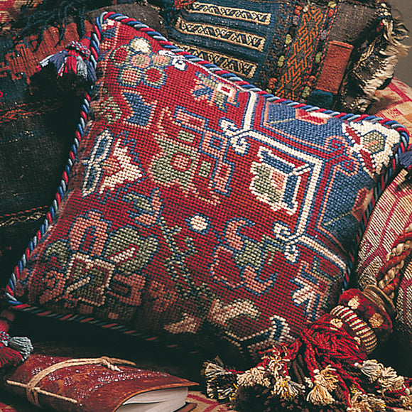 Glorafilia Tapestry Kit, Needlepoint Kit Persian Kelim GL423