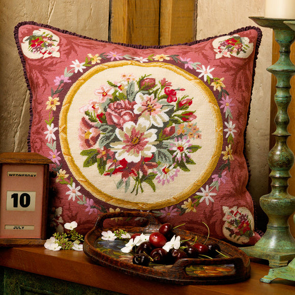 Glorafilia Tapestry Kit Needlepoint Kit Aubusson, Abusson GL5049