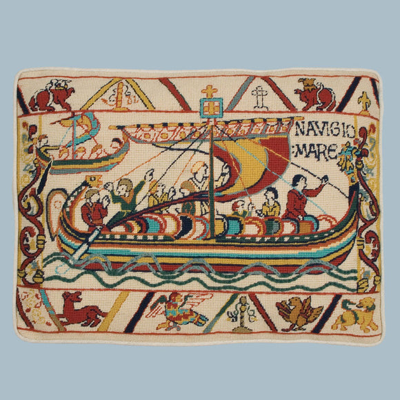 Bayeux Tapestry Invasion, Glorafilia Needlepoint Kit GL6034