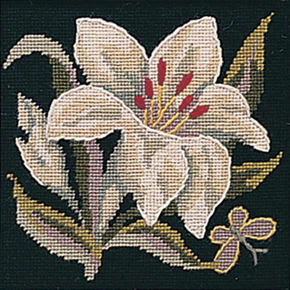 Glorafilia Tapestry Kit Needlepoint Kit Lily Mini GL497