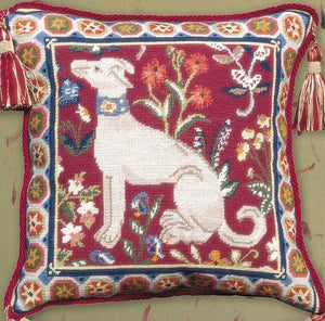 Glorafilia Medieval Dog Tapestry Kit, Needlepoint Kit GL79143