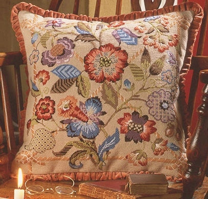 Glorafilia Tapestry Kit Needlepoint Kit Southwold GL5023