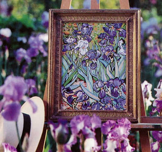 Van Gogh Irises, Glorafilia Needlepoint Kit, Tapestry Kit GL492