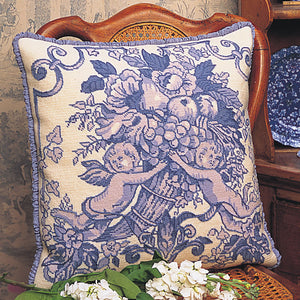 Glorafilia Tapestry Kit Needlepoint Kit Toile de Jouy GL916A