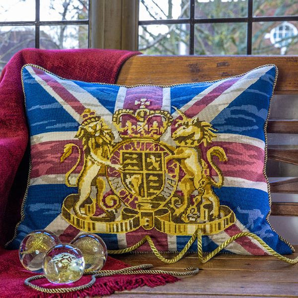 Union Jack Flag Glorafilia Needlepoint Kit Tapestry
