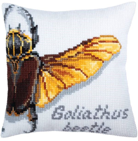Goliathus Beetle CROSS Stitch Tapestry Kit, Collection D'Art CD5362