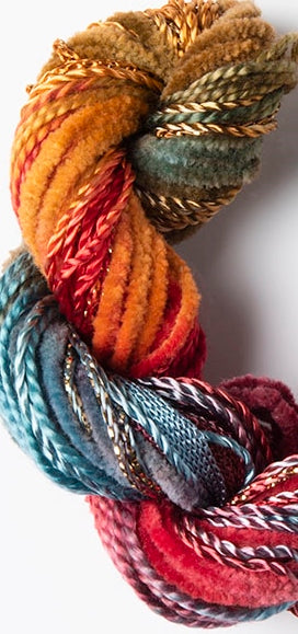 Hand-Dyed Creative Embroidery Thread, Special Textured Selection 28