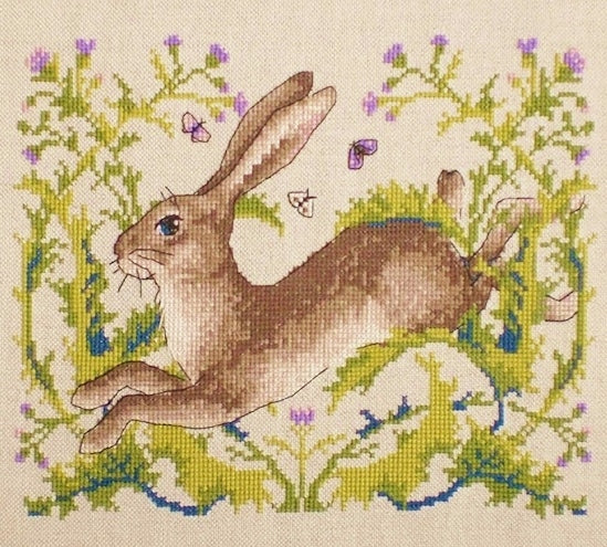 Hare Cross Stitch Kit, Merejka K-147