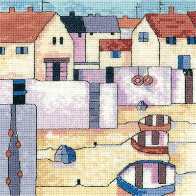 Cross Stitch Kit Harbour View, Counted Cross Stitch Kit PHHV1271