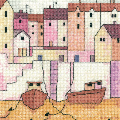 Cross Stitch Kit Harbour Wall, Counted Cross Stitch Kit PHHW1267