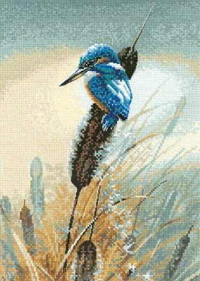 Little Fisher Counted Cross Stitch Kit Heritage Crafts, Warwick Higgs