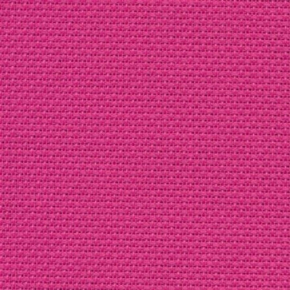 Aida 14 count Fabric, Zweigart 14ct Aida, PER METER -Hot Pink 4023