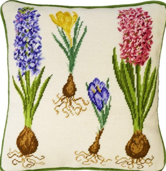 Hyacinth and Crocus Tapestry Kit, Needlepoint Kit Bothy Threads TAP4