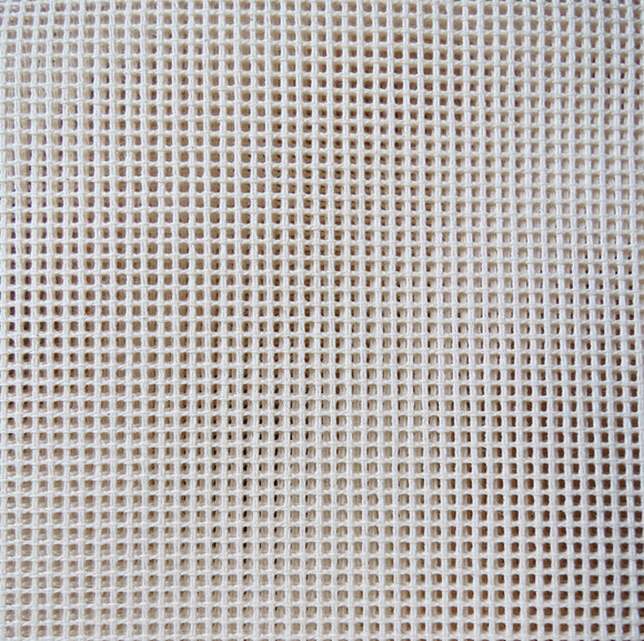 Tapestry Canvas Needlepoint Fabric, Mono Interlock Zweigart 18 hpi Fat Quarter