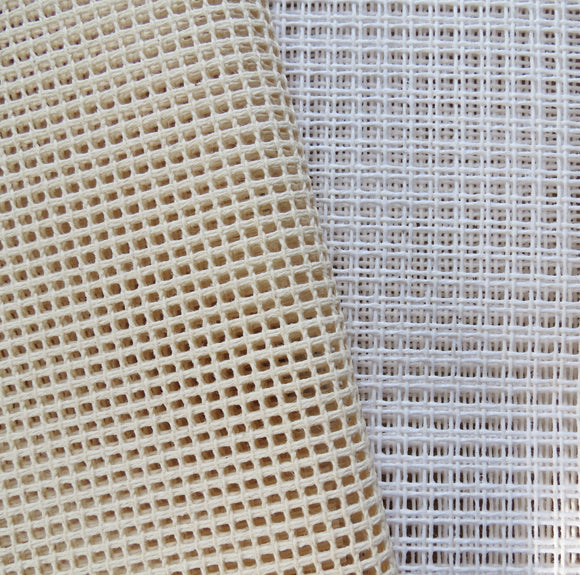 Tapestry Canvas Needlepoint Fabric, Mono Interlock Zweigart 7.5 hpi Per Meter