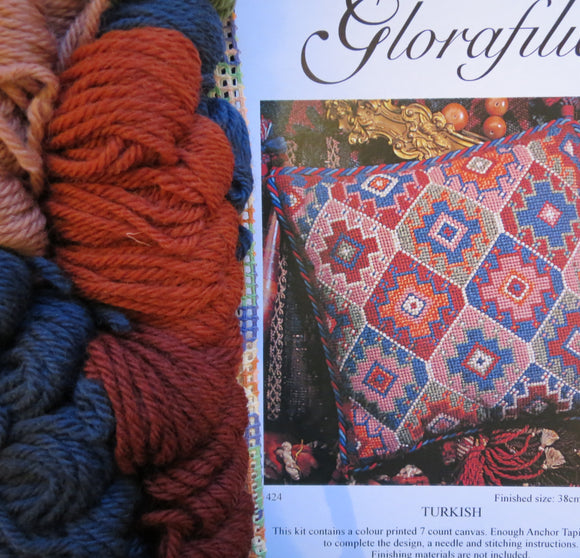 Turkish Kelim, Glorafilia Needlepoint Kit GL424